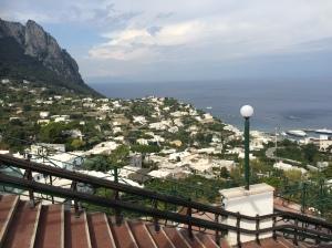 Mediterranean island  of Capri